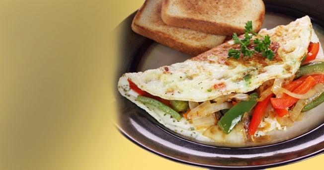 Omelet dietetico receta